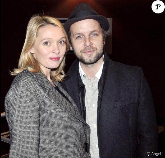 Anne Marivin et le père de son futur bébé à l'avant-première du Bal des actrices, le 19/01/09