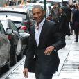 Barack Obama à la sortie du restaurant Upland à New York, le 10 mars 2017.