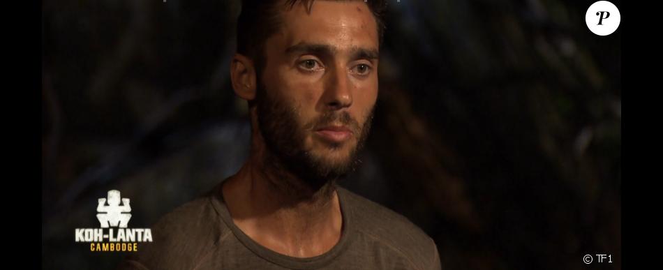 Sandro est éliminé - Koh-Lanta Cambodge, épisode du 5 mai 2017 sur TF1.