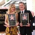 Goldie Hawn et son compagnon Kurt Russell reçoivent leurs étoiles sur le Walk of Fame au 6201 Hollywood blvd à Hollywood, le 4 mai 2017  Goldie Hawn at Hawn-Russell double Walk of Fame ceremony held at 6201 Hollywood blvd. May 4, 201704/05/2017 - Hollywood