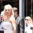 Kate Hudson - Goldie Hawn et son compagnon Kurt Russell reçoivent leurs étoiles sur le Walk of Fame au 6201 Hollywood blvd à Hollywood, le 4 mai 2017