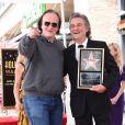 Quentin Tarantino et Kurt Russell - Goldie Hawn et son compagnon Kurt Russell reçoivent leurs étoiles sur le Walk of Fame au 6201 Hollywood blvd à Hollywood, le 4 mai 2017