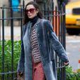 Demi Moore sur le tournage du film 'Blind' à New York, le 12 novembre 2015