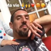 "Franck Ribéry : Séance massage avec sa ""princesse"", sa fille Shakinez"