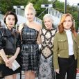 Fan Bing Bing, Sophie Turner, Michelle Williams et Isabelle Huppert assistent au défilé Louis Vuitton (collection prêt-à-porter croisière 2018) au Miho Museum. Kyoto, le 14 mai 2017.