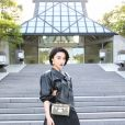 Fan Bing Bing assiste au défilé Louis Vuitton (collection prêt-à-porter croisière 2018) au Miho Museum. Kyoto, le 14 mai 2017.
