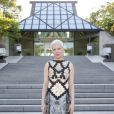 Michelle Williams assiste au défilé Louis Vuitton (collection prêt-à-porter croisière 2018) au Miho Museum. Kyoto, le 14 mai 2017.