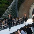 Défilé Louis Vuitton (collection prêt-à-porter croisière 2018) au Miho Museum. Kyoto, le 14 mai 2017.