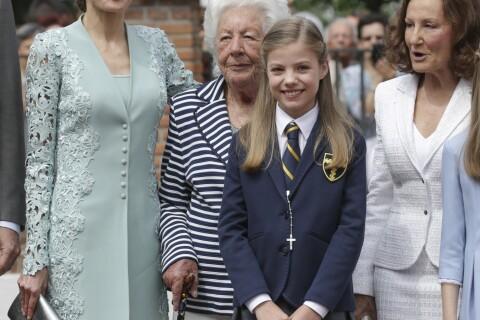 Sofia d'Espagne : En famille pour sa communion, Letizia et Leonor sur leur 31