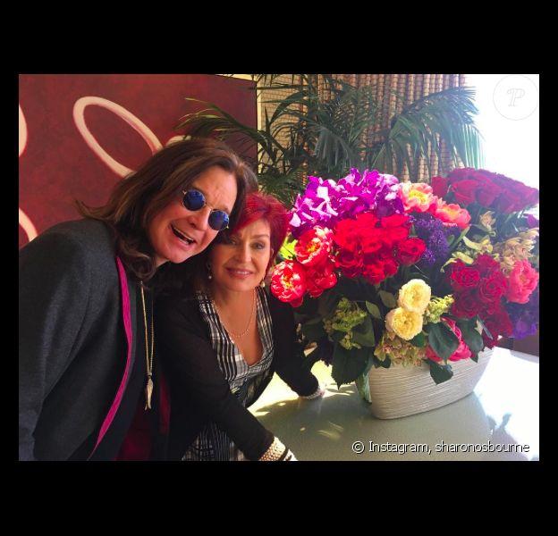 Sharon et Ozzy Osbourne ont renouvelé leurs voeux de mariage à Las Vegas, le 15 mai 2017