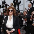 "Susan Sarandon - Montée des marches du film ""Nelyubov"" (Loveless) lors du 70ème Festival International du Film de Cannes. Le 18 mai 2017. © Borde-Jacovides-Moreau/Bestimage"