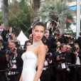 "Adriana Lima - Montée des marches du film ""Nelyubov"" (Loveless) lors du 70ème Festival International du Film de Cannes. Le 18 mai 2017. © Borde-Jacovides-Moreau/Bestimage"