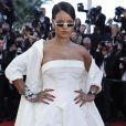 """Rihanna (robe Christian Dior, bijoux Rihanna ♥ Chopard) - Montée des marches du film """"Okja""""lors du 70ème Festival International du Film de Cannes. Le 19 mai 2017. © Borde-Jacovides-Moreau/Bestimage"""