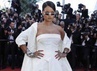 Rihanna, épaules nues sur les marches de Cannes : Un diamant sublime et solaire