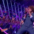 "Marius - ""The Voice 6"", live du 27 mai 2017 sur TF1."