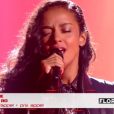 "Lucie - ""The Voice 6"", live du 27 mai 2017 sur TF1."