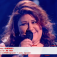 "Audrey - ""The Voice 6"", live du 27 mai 2017 sur TF1."