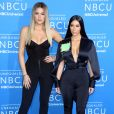 Khloé Kardashian et Kim Kardashian à la soirée NBCUniversal 2017 à New York, le 15 mai 2017