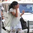 Exclusif - La chanteuse Brandy se cache des photographes dans la rue à Los Angeles Le 11 juin 2016  For Germany Call For Price Exclusive... 52088553 She recording artist and actress Brandy was spotted out and about in Beverly Hills, California on June 10, 2016. Brandy was heading back to her car after visiting the doctor's office. Brandy's record label is in some hot water as they have not held up their end of the deal with payments to Brandy. She is suing them for  million. (Madame Noir)10/06/2016 - Los angeles