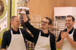 Le Meilleur Pâtissier, les professionnels : Les projets du gagnant Thierry Court