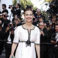 Carole Bouquet à la montée des marches de la soirée du 70ème Anniversaire du Festival International du Film de Cannes, le 23 mai 2017. © Pierre Perusseau/Bestimage