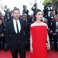 """Melvil Poupaud et Fan Bingbing - Montée des marches du film """"Les proies"""" lors du 70ème Festival International du Film de Cannes. Le 24 mai 2017. © Borde-Jacovides-Moreau / Bestimage"""
