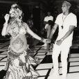 Beyonce Knowles et son mari Jay Z à leur baby-shower - Photo publiée sur Instagram le 21 mai 2017