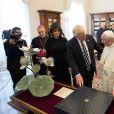 Le Pape François rencontre Donald Trump et sa femme Melania au Vatican, le 24 mai 2017