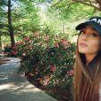 Ariana Grande a publié une photo d'elle sur sa page Instagram le 6 avril 2017
