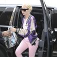 Iggy Azalea arrive à l'aéroport de Los Angeles (LAX), le 25 mai 2017. © CPA/Bestimage