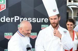 Philippe Etchebest fait cuisiner Chris Hemsworth... sur un yacht !