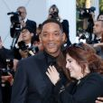 Will Smith et Agnès Jaoui - Montée des marches de la cérémonie de clôture du 70e Festival International du Film de Cannes. Le 28 mai 2017. © Borde-Jacovides-Moreau/Bestimage
