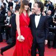 Marina Hands et Guillaume Gallienne - Montée des marches de la cérémonie de clôture du 70e Festival International du Film de Cannes. Le 28 mai 2017. © Borde-Jacovides-Moreau / Bestimage