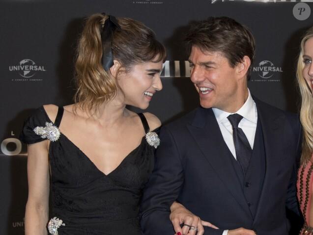 """Sofia Boutella et Tom Cruise - Avant-première du film """"La Momie"""" au Grand Rex à Paris, France, le 30 mai 2017. © Borde-Perusseau/Bestimage"""