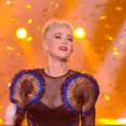 Katy Perry dans The Voice 6, le 3 juin 2017 sur TF1.