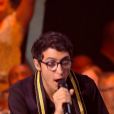 Vincent Vinel dans The Voice 6, le 3 juin 2017 sur TF1.