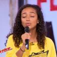 Lucie dans The Voice 6, le 3 juin 2017 sur TF1.