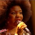 """Shaby dans """"The Voice 6"""" le 3 juin 2017 sur TF1."""