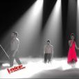 """Ann-Shirley dans """"The Voice 6"""" le 3 juin 2017 sur TF1."""