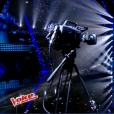 """Lisandro Cuxi dans """"The Voice 6"""" le 3 juin 2017 sur TF1."""
