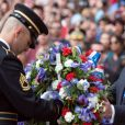 Donal Trump à la cérémonie du Memorial Day à Arlington le 29 mai 2017.
