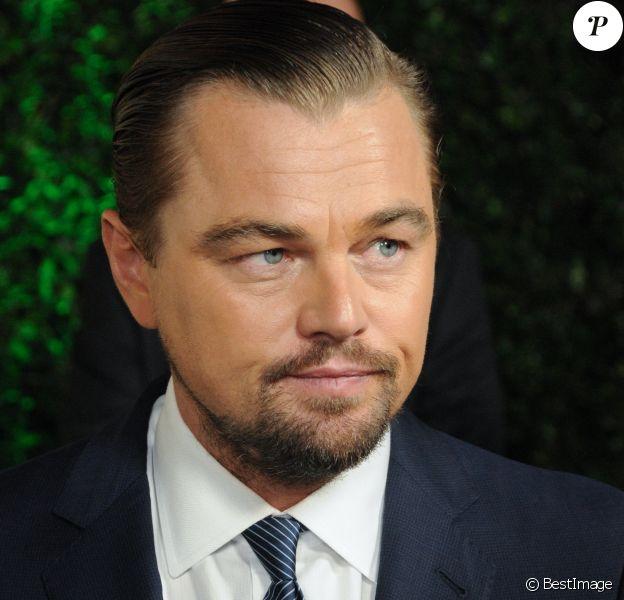 Leonardo DiCaprio à la première de ''Before The Flood'' au théâtre Bing à Culver City, le 24 octobre 2016 © Birdie Thompson/AdMedia via Zuma/Bestimage