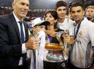 Ligue des Champions : Zinedine Zidane fête en famille la victoire du Real Madrid