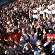 Attentat de Manchester : 'One Love Manchester', concert exceptionnel organisé au profit des familles des victimes à Manchester le 4 juin 2017 © DaveHogan For OneLoveManchester/GoffPhotos.com via Bestimage