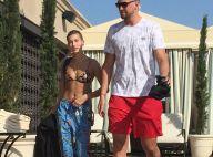 Hailey Baldwin : Bikini rikiki et moment très hot avec une star de la NBA