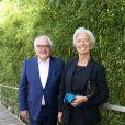 Christophe Navarre (PDG de Moët Hennessy) et Christine Lagarde - Internationaux de France de Roland-Garros à Paris, le 9 juin 2017. © Dominique Jacovides - Cyril Moreau/ Bestimage