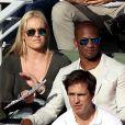 Lindsey Vonn et Kenan Smith - Internationaux de France de Roland-Garros à Paris, le 9 juin 2017. © Dominique Jacovides - Cyril Moreau/ Bestimage