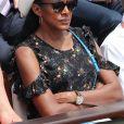 Marie-José Pérec - Internationaux de France de Roland-Garros à Paris, le 9 juin 2017. © Dominique Jacovides - Cyril Moreau/ Bestimage