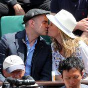Roland-Garros : Clovis Cornillac amoureux au côté de Maïwenn et Lindsey Vonn