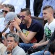 Le footballeur Marco Verratti - Internationaux de France de Roland-Garros à Paris, le 9 juin 2017. © Dominique Jacovides - Cyril Moreau/ Bestimage
